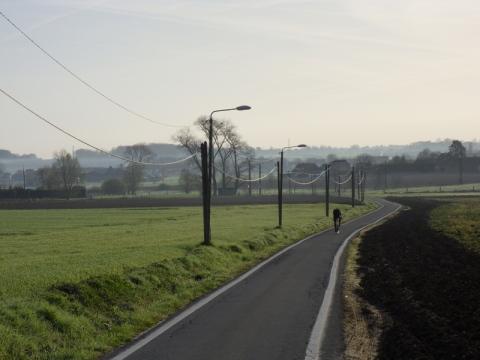 Route dans le Ferrain