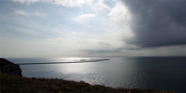 Cap d'Antifer - Véloroute de la côte d'albâtre