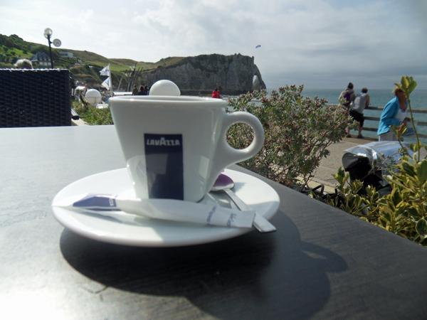 Tasse à café - Etretat - Véloroute de la côte d'albâtre