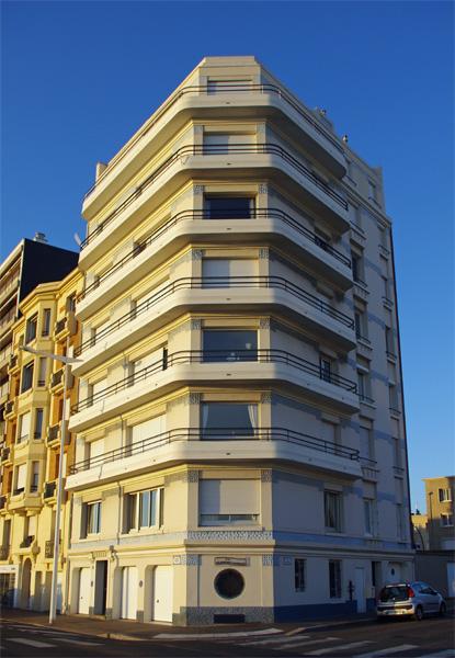 Immeuble - Le Havre - Véloroute de la côte d'albâtre
