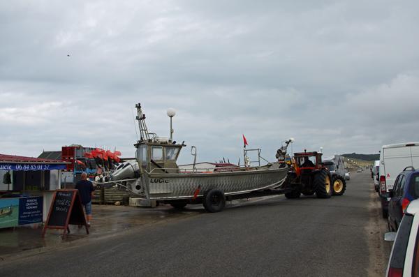 Pêcheurs - Pourville - Véloroute de la côte d'albâtre