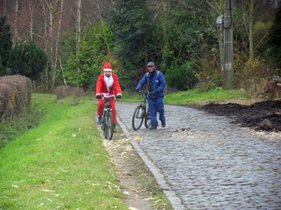 Cycliste VTT - Ronde de Noël Roncq 2013