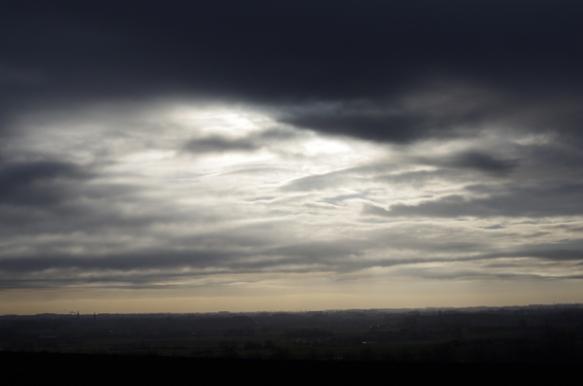 Ciel gris nuageux- Monts des Flandres