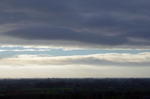 Ciel nuageux - Monts des Flandres