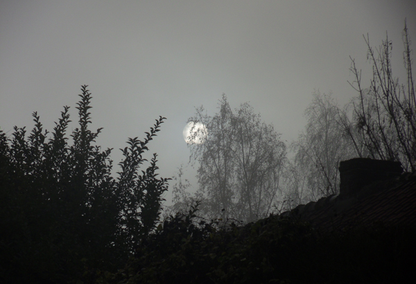 Soleil dans le brouillard - Raid VTT Saint Saulve 2013