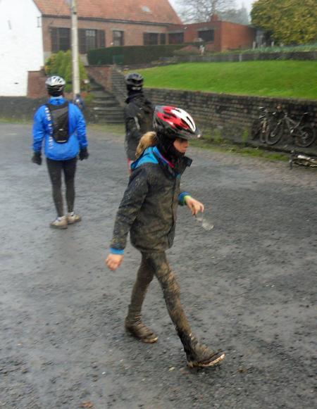 Jeune cycliste - Raid VTT Saint Saulve 2013