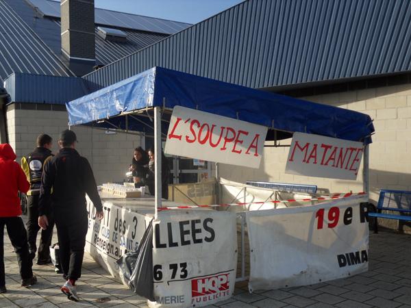 Stand soupe - Raid VTT Saint Saulve 2013