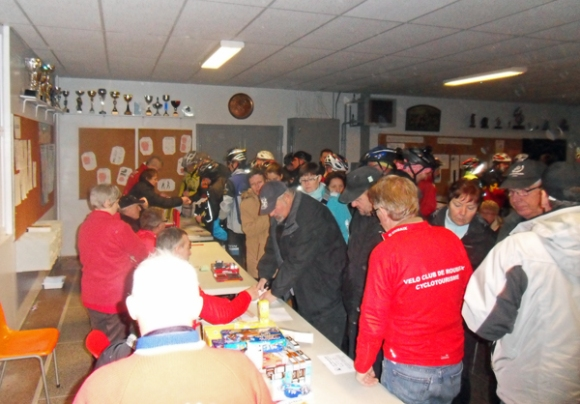 Ronde des rois VTT 2014 - Accueil