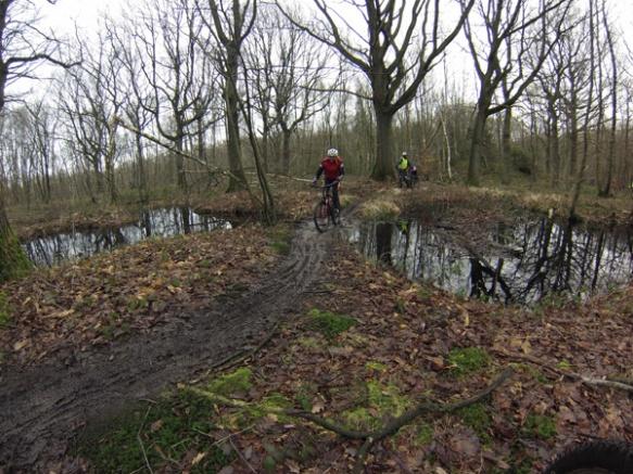 Cyclistes VTT - Randonnée du bois des dames Gosnay 2014