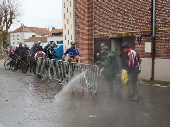 Nettoyage VTT - Randonnée du bois des dames Gosnay 2014