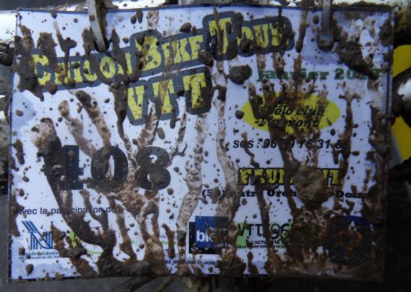 Chicon bike tour 2014 - plaque de cadre