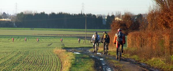 Ronde des rois VTT 2014 - Cyclistes