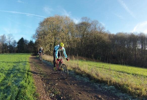 Lockedyzetoertocht - Kemmelberg VTT - cycliste