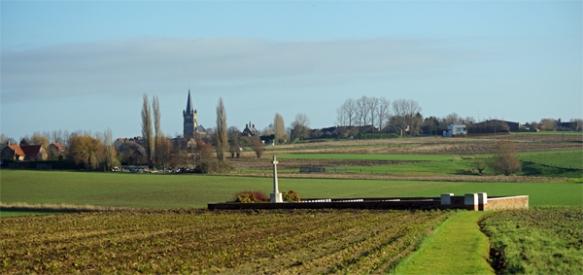 Cimetière britannique - Belgique