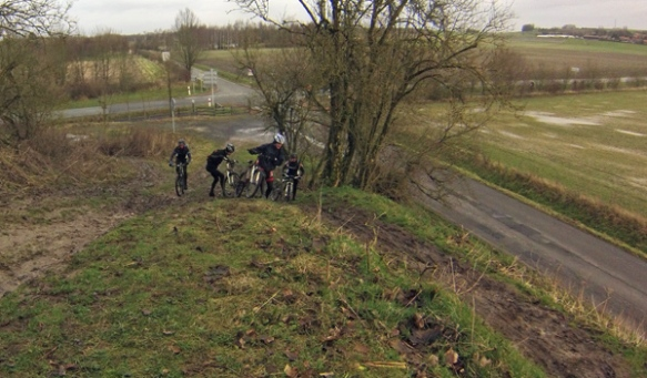 Cycliste - Ronde verte de la Pévèle VTT 2014 - Bersée