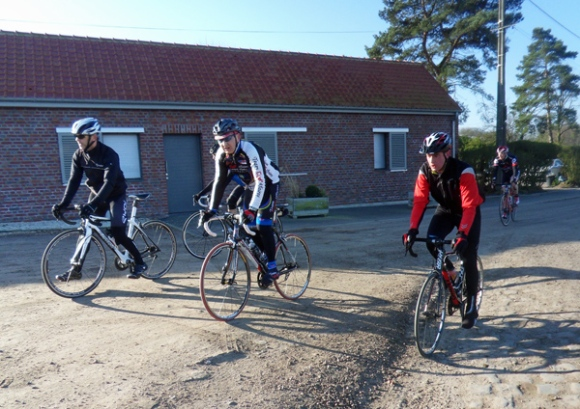 Cycliste - Transpeveloise 2014