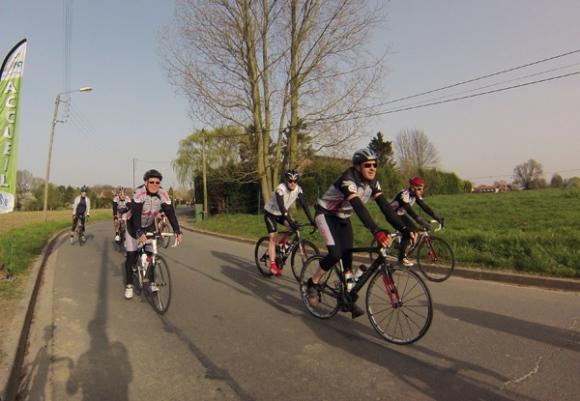 Cycliste - Randonnée de l'amitié 2014 - Templemars