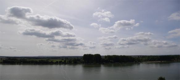 La seine entre Le Havre et Rouen