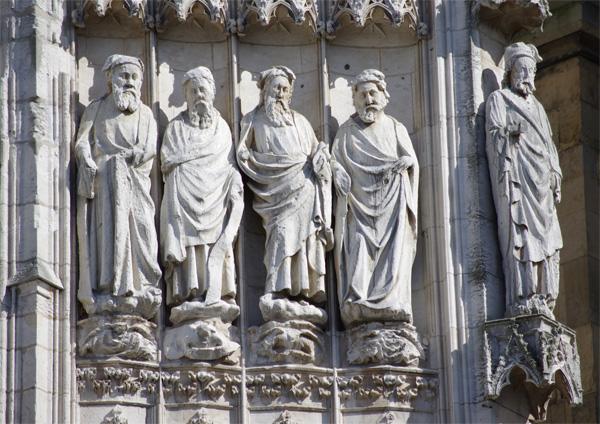 Cathédrale de Rouen détail