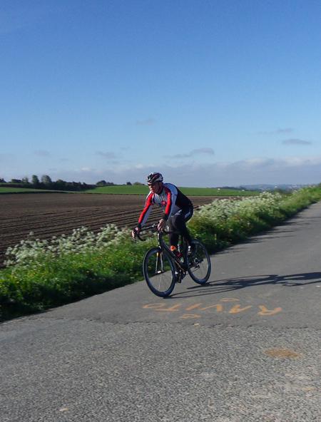 Cycliste - La Patricia 2014 - Lys lez Lannoy