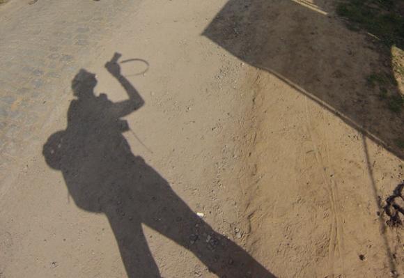 Paris Roubaix 2014 - Pavé de Gruson - ombre