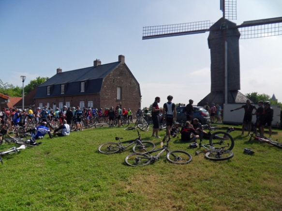Cyclistes - Randonnée de Boeschepe 2014