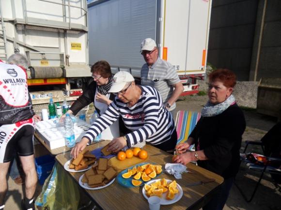 Ravitaillement - Randonnée de Boeschepe 2014