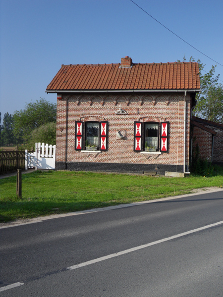 Maison flamande - Randonnée de Boeschepe 2014