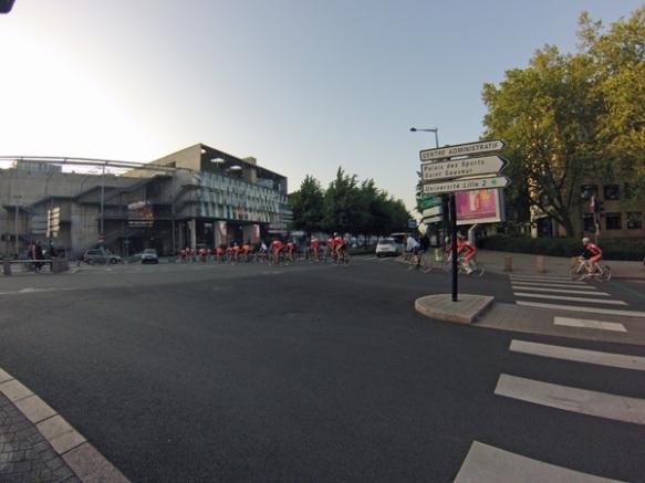 Lille Hardelot 2014 - départ