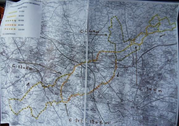 Itinéraire - Des Weppes à l'Artois Radinghem 2014
