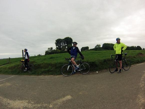 Cycliste - Les belles censes 2014 - Anstaing