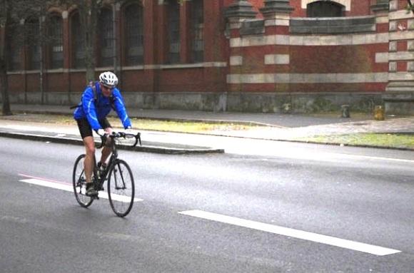Lille Bray Dunes 2014 - Départ Boulevard Louis XIV - Cyclistes9