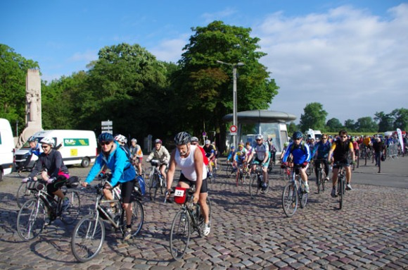 Cyclothon 2014 - Départ