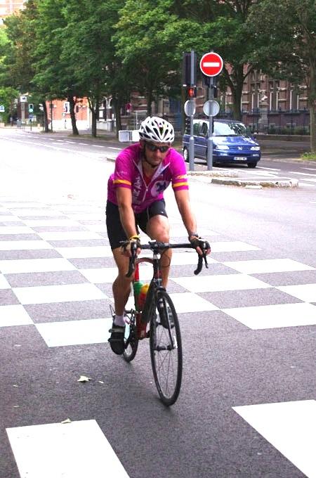 Lille Bray Dunes 2014 - Départ Boulevard Louis XIV - Cyclistesv