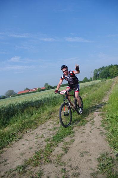 Brevet Roland Plamon - Seclin 2014 - cycliste