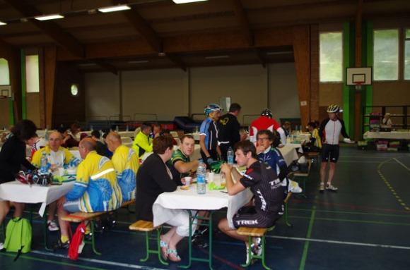 Cyclothon 2014 - arrivée