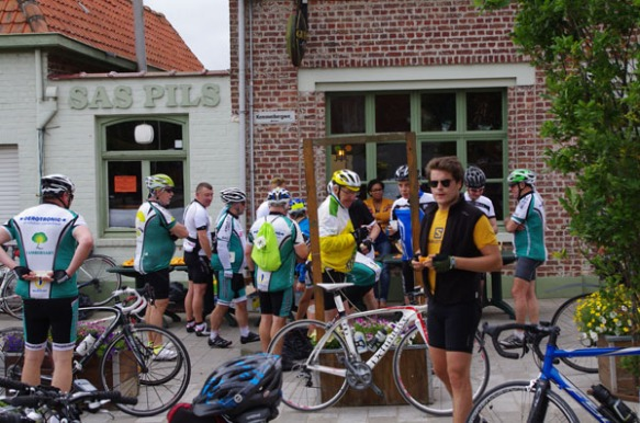 Cyclothon 2014 - ravitaillement