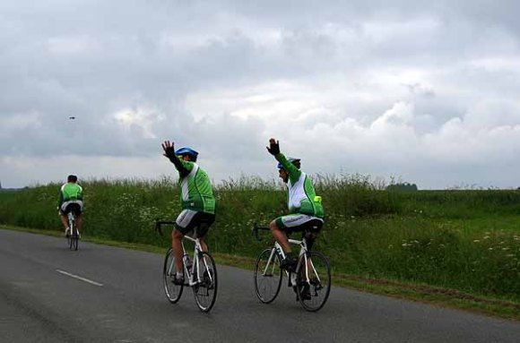 Cyclistes - Le dormeur du Val