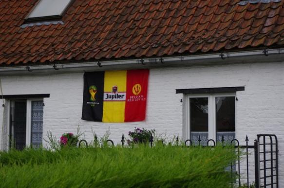 Euroclassic LKRT 2014 - Drapeau belge