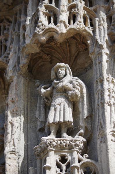 Eglise de Caudebec en caux - Détail