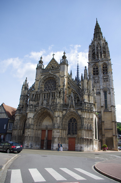 Eglise de Caudebec en caux