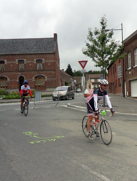 Cyclistes - Route des Monts 2014