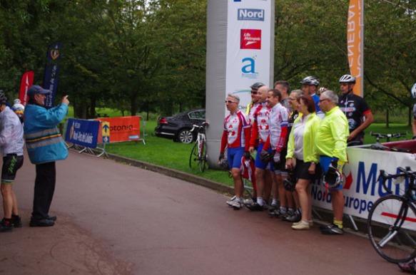 Départ - Route des Monts 2014