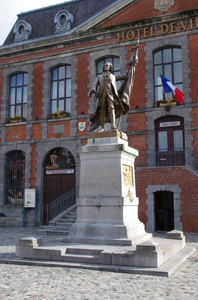 Statue de Dupleix Landrecies