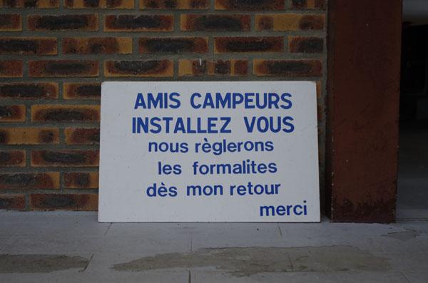 Affiche Camping de Vire