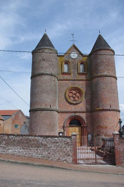 Eglise de Montceau sur Oise
