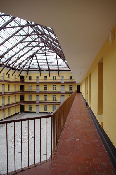 Coursive Palais social Familistère de Guise