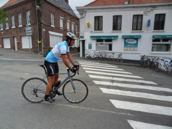 Cyclistes - Route des Monts 2014