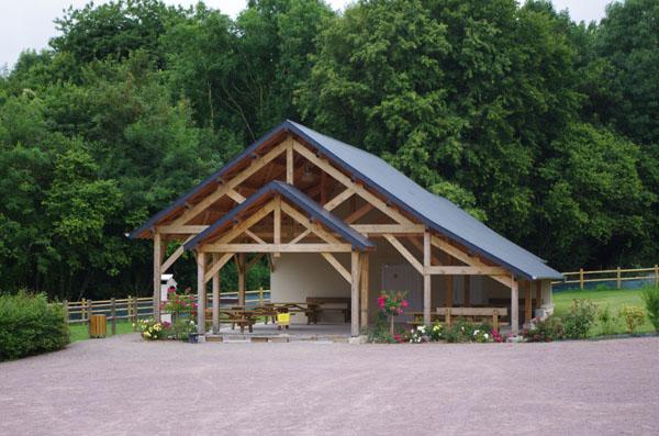Abri pique nique à Saint Vaast sur Seulles - Calvados