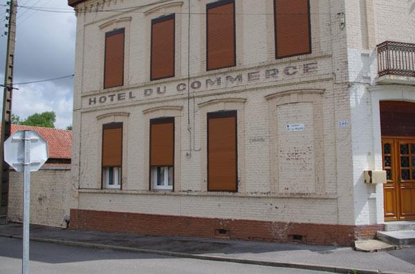 Enseigne ancien hôtel Guise
